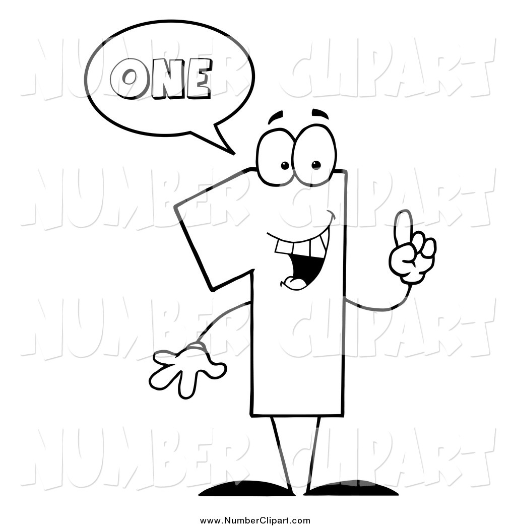 number black and white clipart clipart suggest