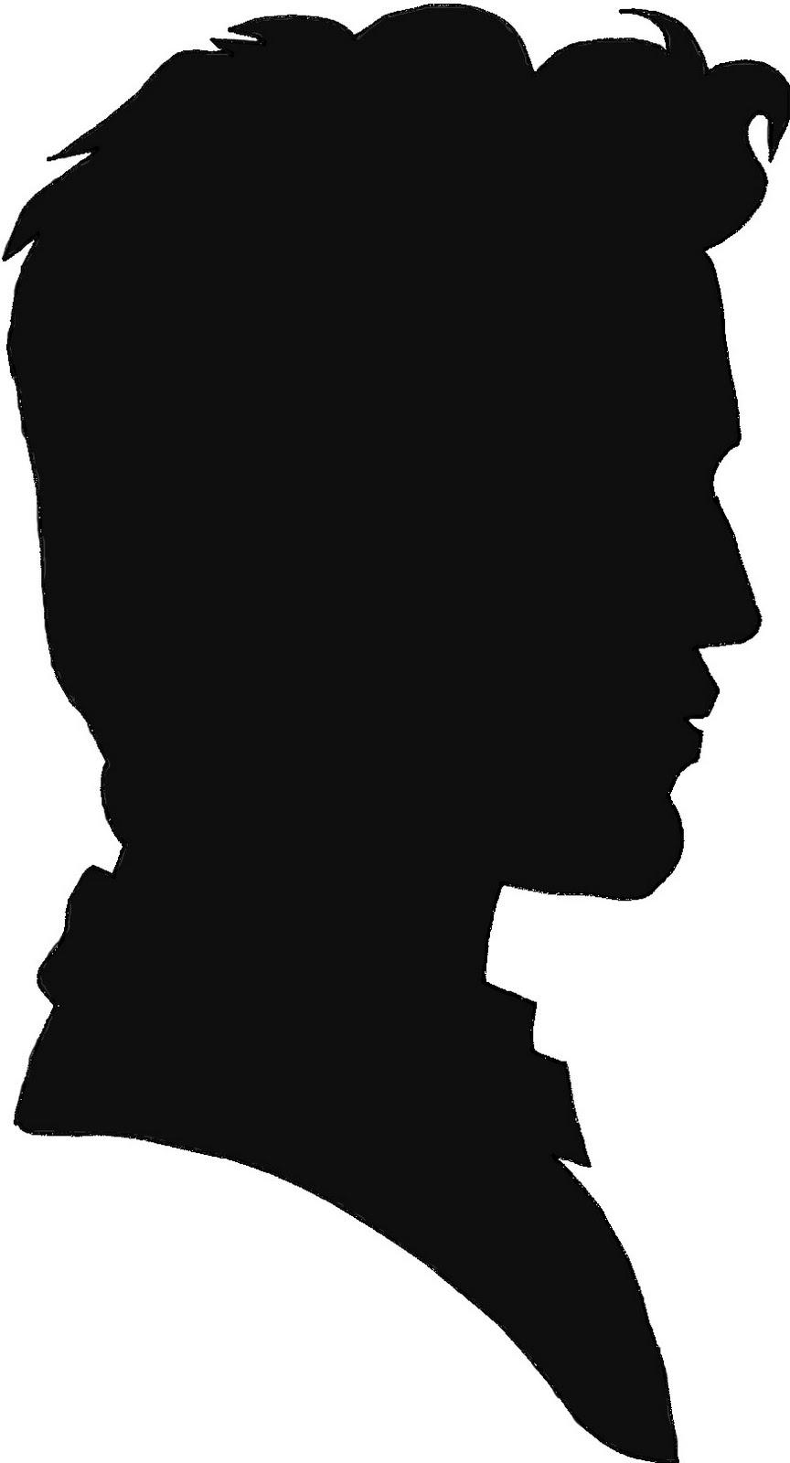Man Profile Silhouette Clipart - Clipart Suggest