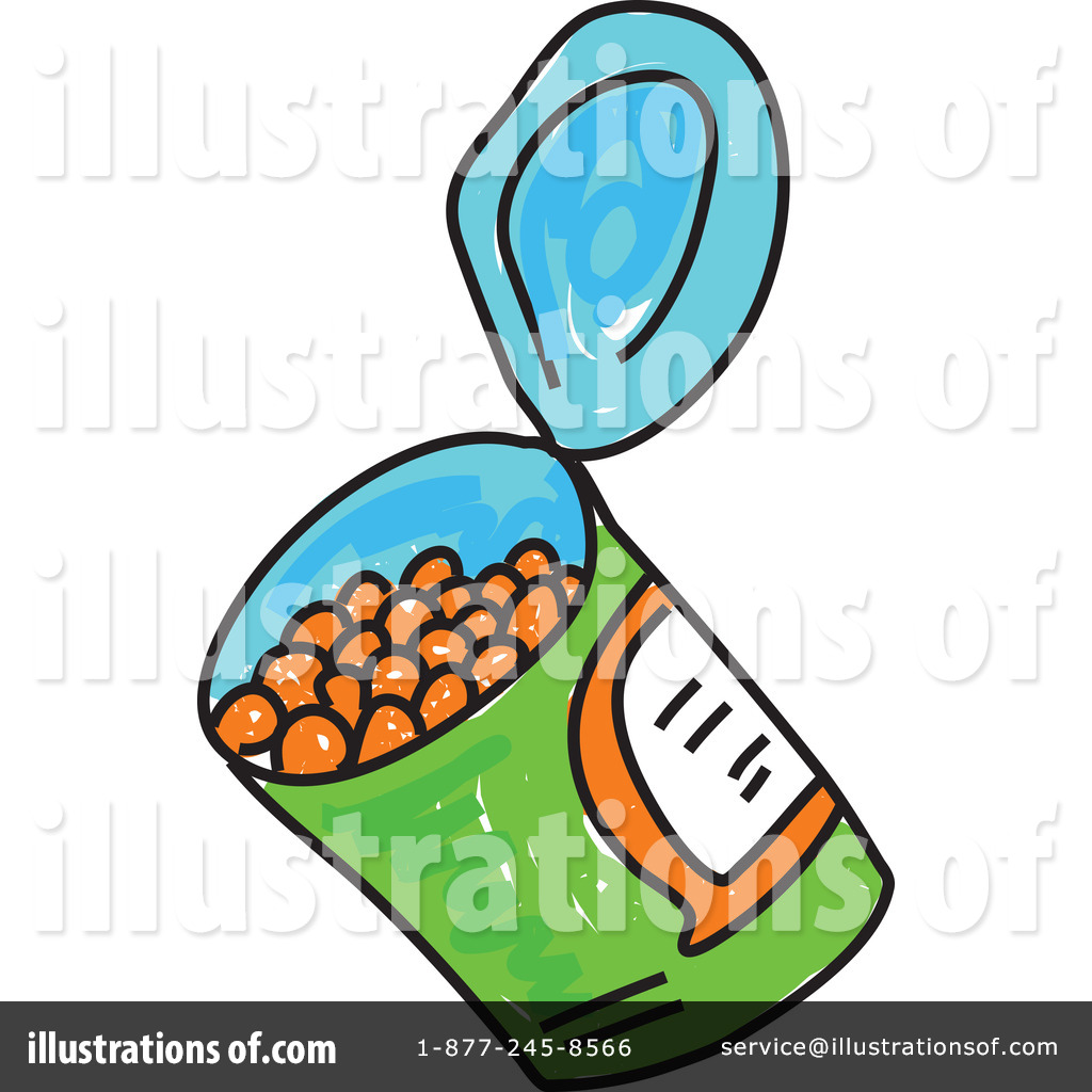 Canned Beans Clip Art More Clip Art Illustrations Of