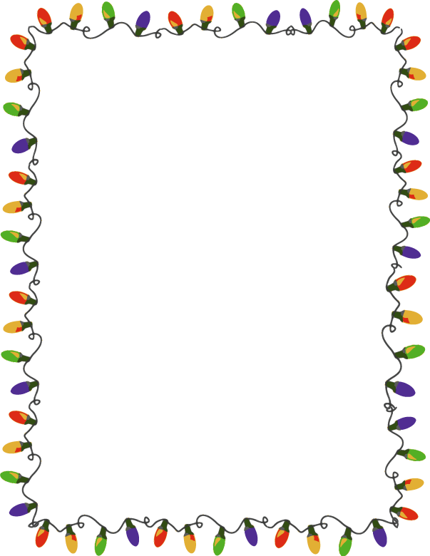 Holiday Borders Clipart - Clipart Kid