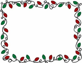 Christmas Lights Clipart Border   Clipart Panda   Free Clipart Images