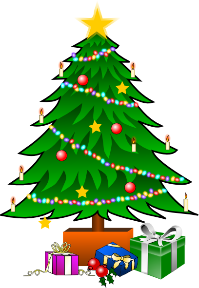 Christmas tree animated clipart suggest