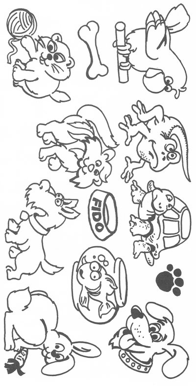 Group Of Pets Clipart - Clipart Kid