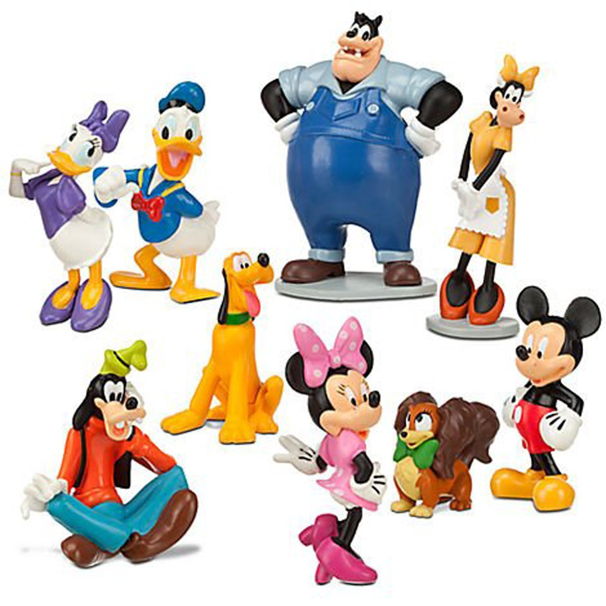 Mickey Clubhouse Character Birthday Clipart - Clipart Suggest