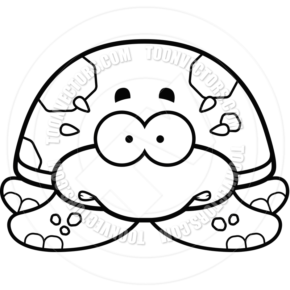 Turtle Black And White Clipart - Clipart Suggest