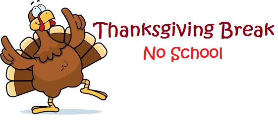 Thanksgiving Break Info For Area Schools   Burlington Record