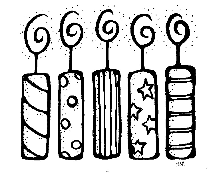 Birthday Black And White Clipart - Clipart Suggest
