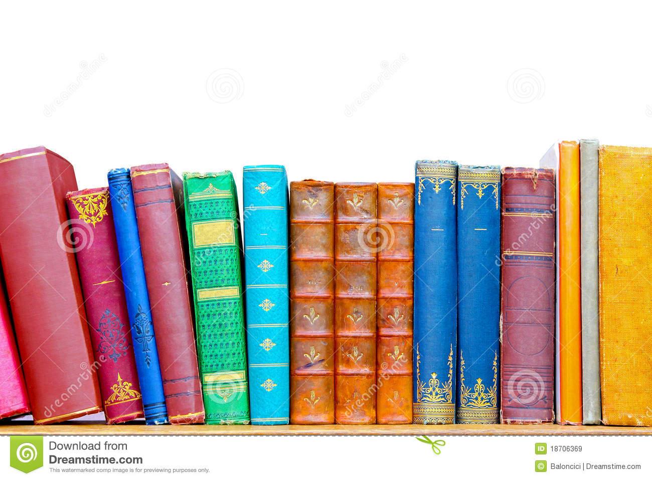Library Shelf Clip Art