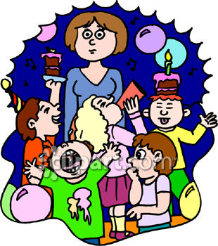 Clip Art Birthday Party Clipart - Clipart Kid