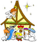 Free Clipart Of Religious Christmas Colorful Clipart Of A Small