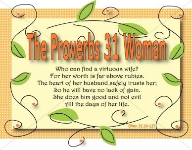 Proverbs 31 Woman Graphic