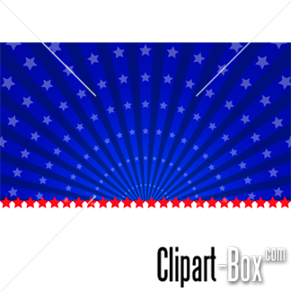Related American Flag Background Cliparts