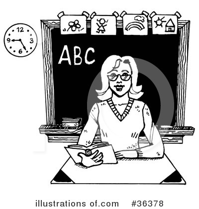 Teacher Clipart  36378   Illustration By Loopyland