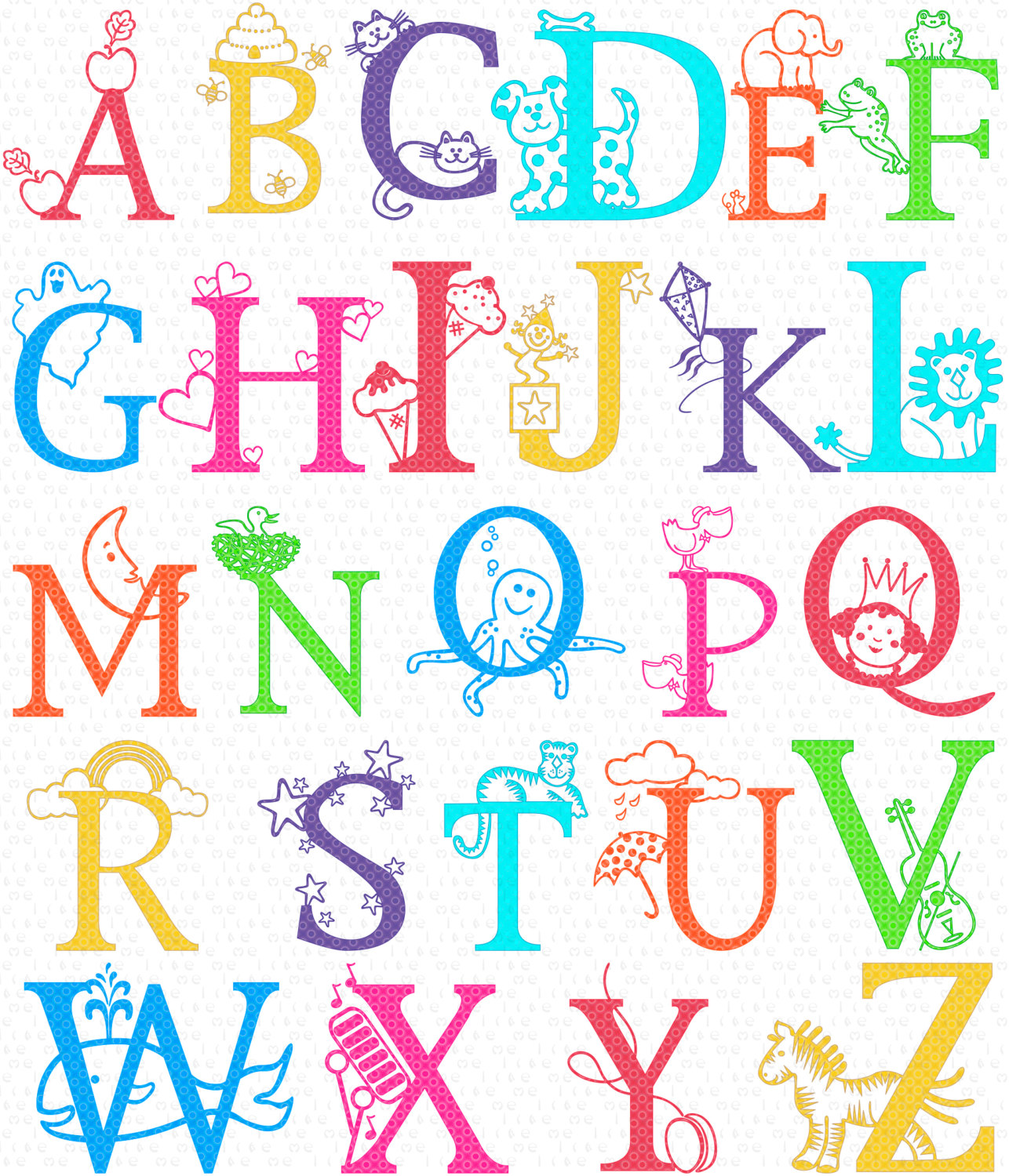 images clipart alphabet - photo #23