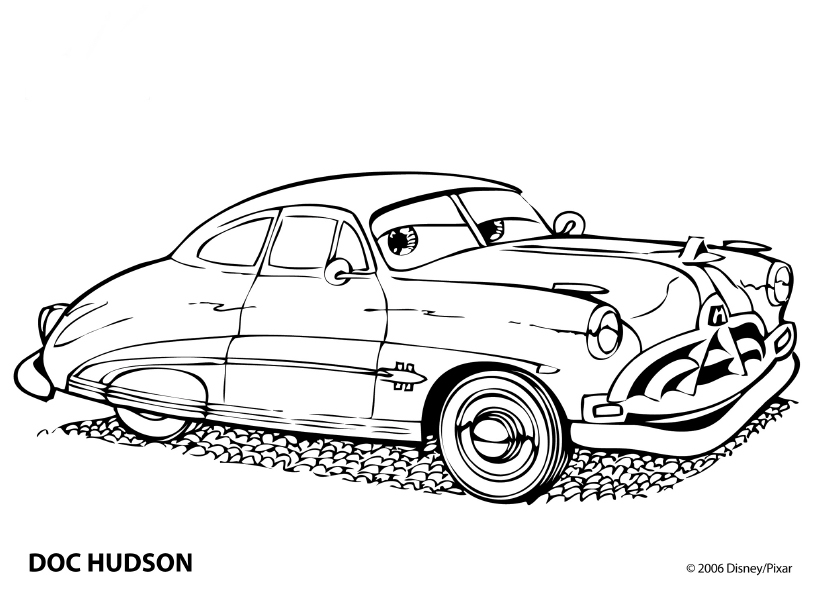 Coloring Pages   Cars Coloring Pages