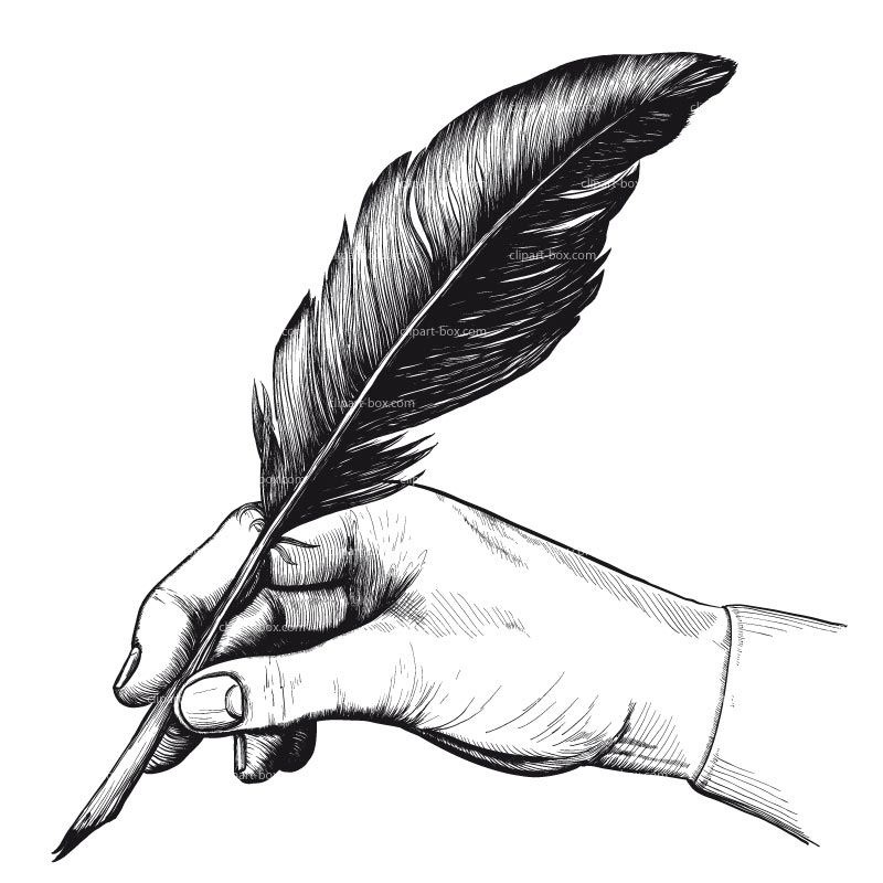 Image result for feather pen