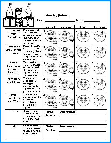Book Poster Rubric images happytom co
