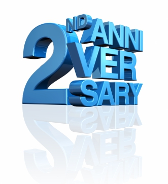 Happy 2nd Work Anniversary Clipart - Clipart Kid