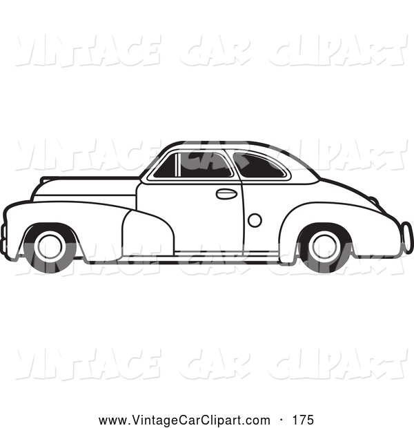 Old Car Clip Art Black And White