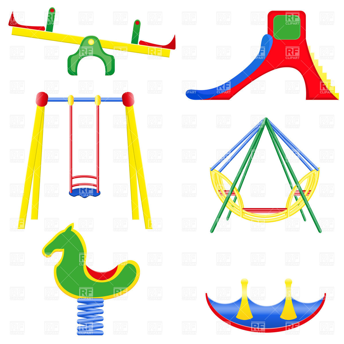 Playground Clip Art Black And White Playground Clipart Playground