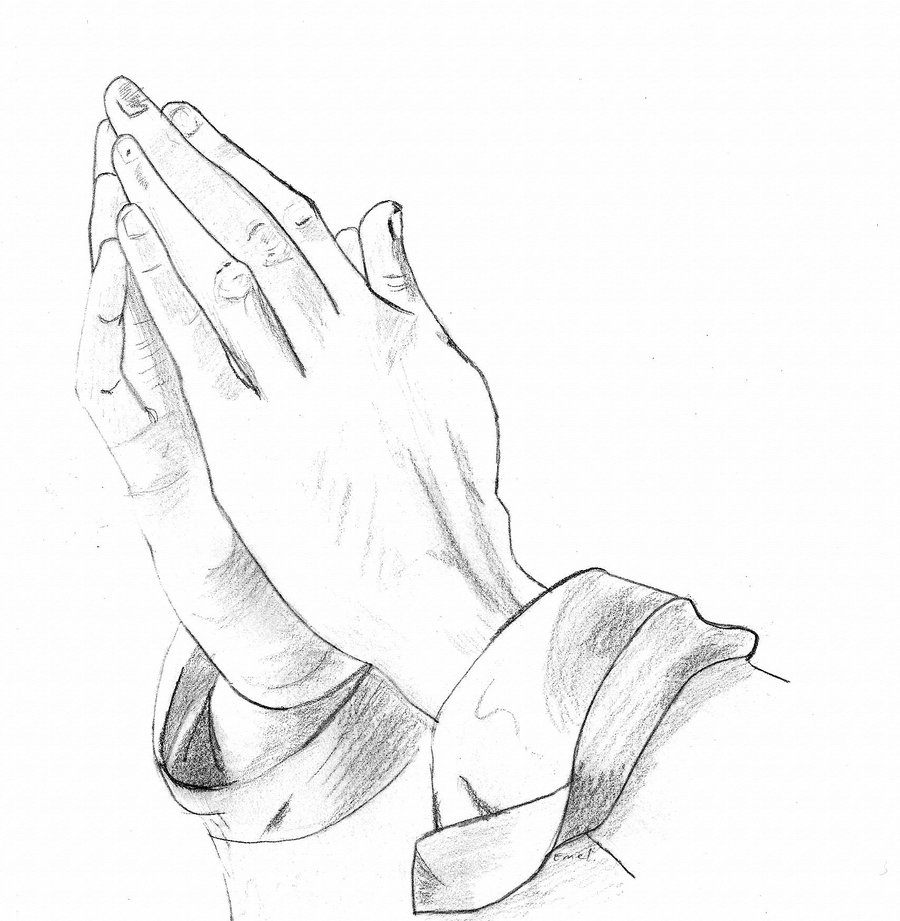 Praying Hands By Dselene On Deviantart