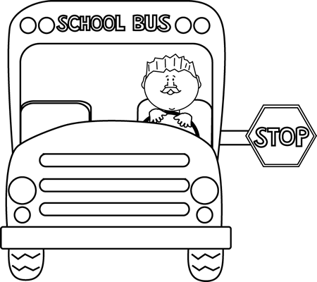 School Bus Black And White Black And White School Bus Car Pictures