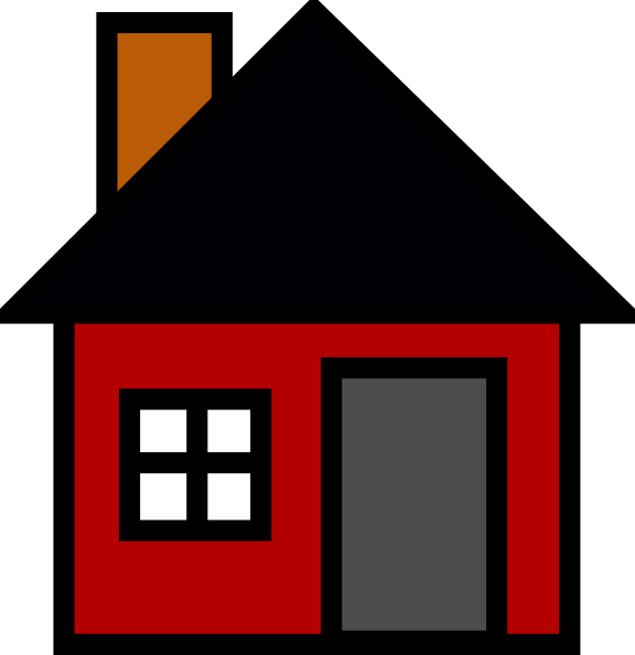 Small House Clip Art At Clker Com   Vector Clip Art Online Royalty