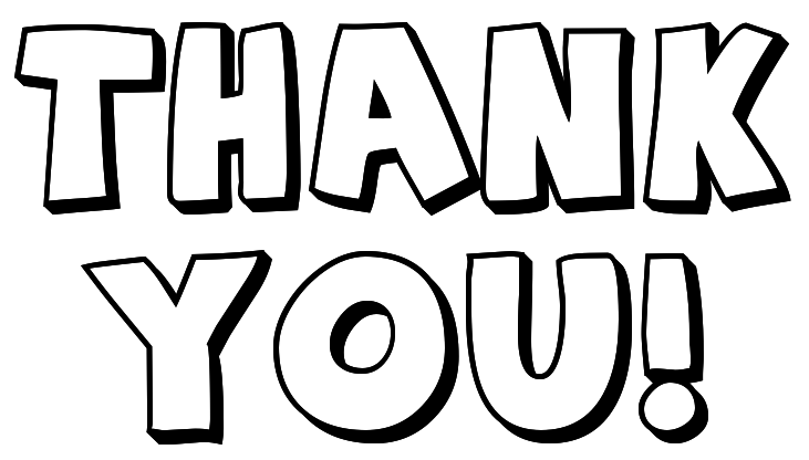Clip Art Clipart Thank You thank you for your help clipart kid black and white clip art 16 png