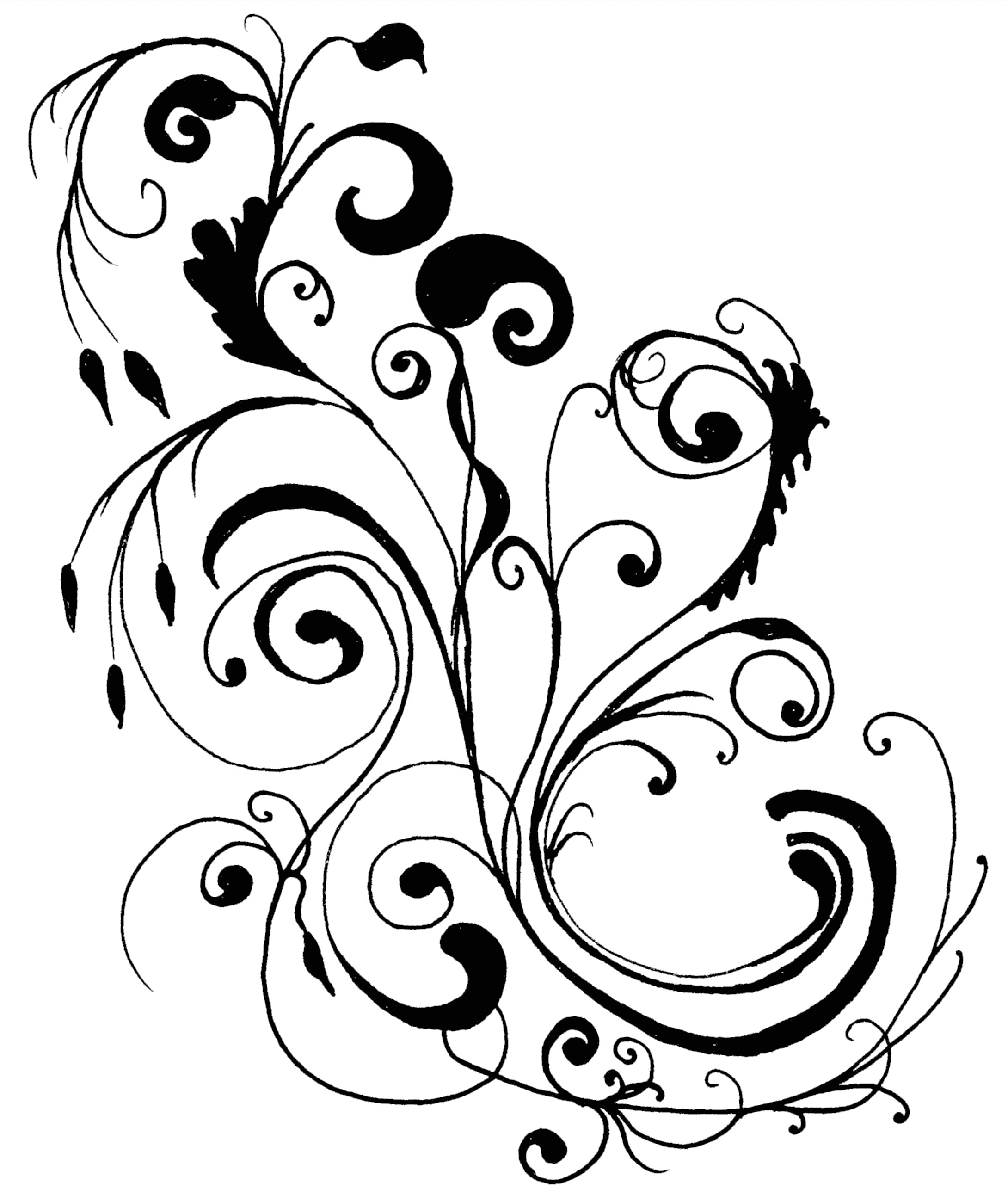 Cool Line Art Designs : Clip art line design clipart suggest