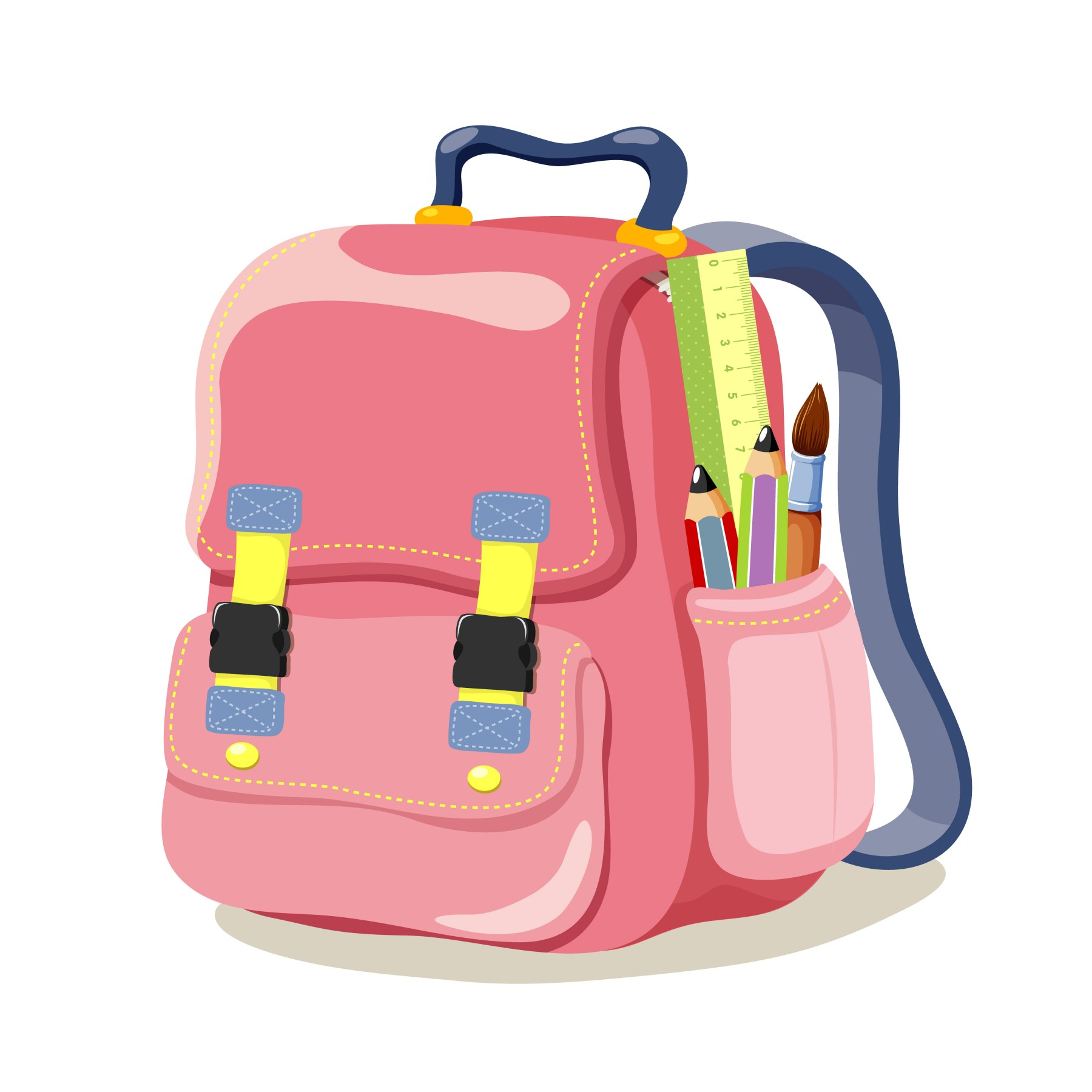 School Bag Clipart - Clipart Kid