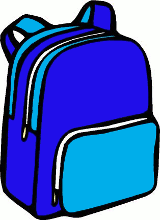 Book Bag Clip Art