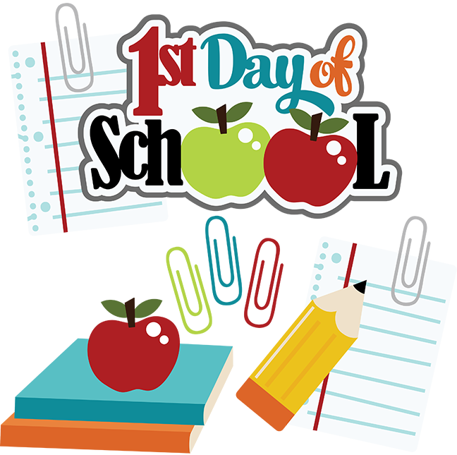 First Day Of School Clipart - Clipart Suggest