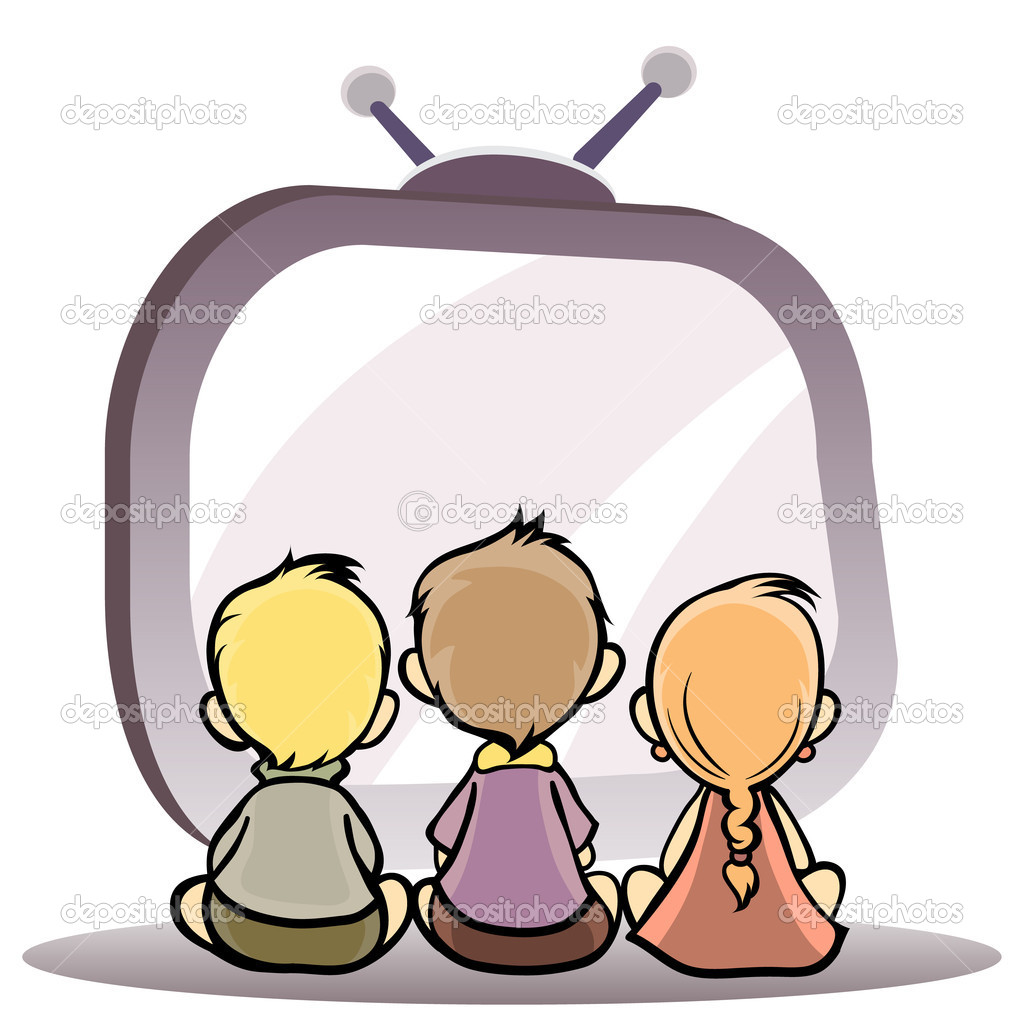 Family Watching Tv Clipart Watching Movies Clipart