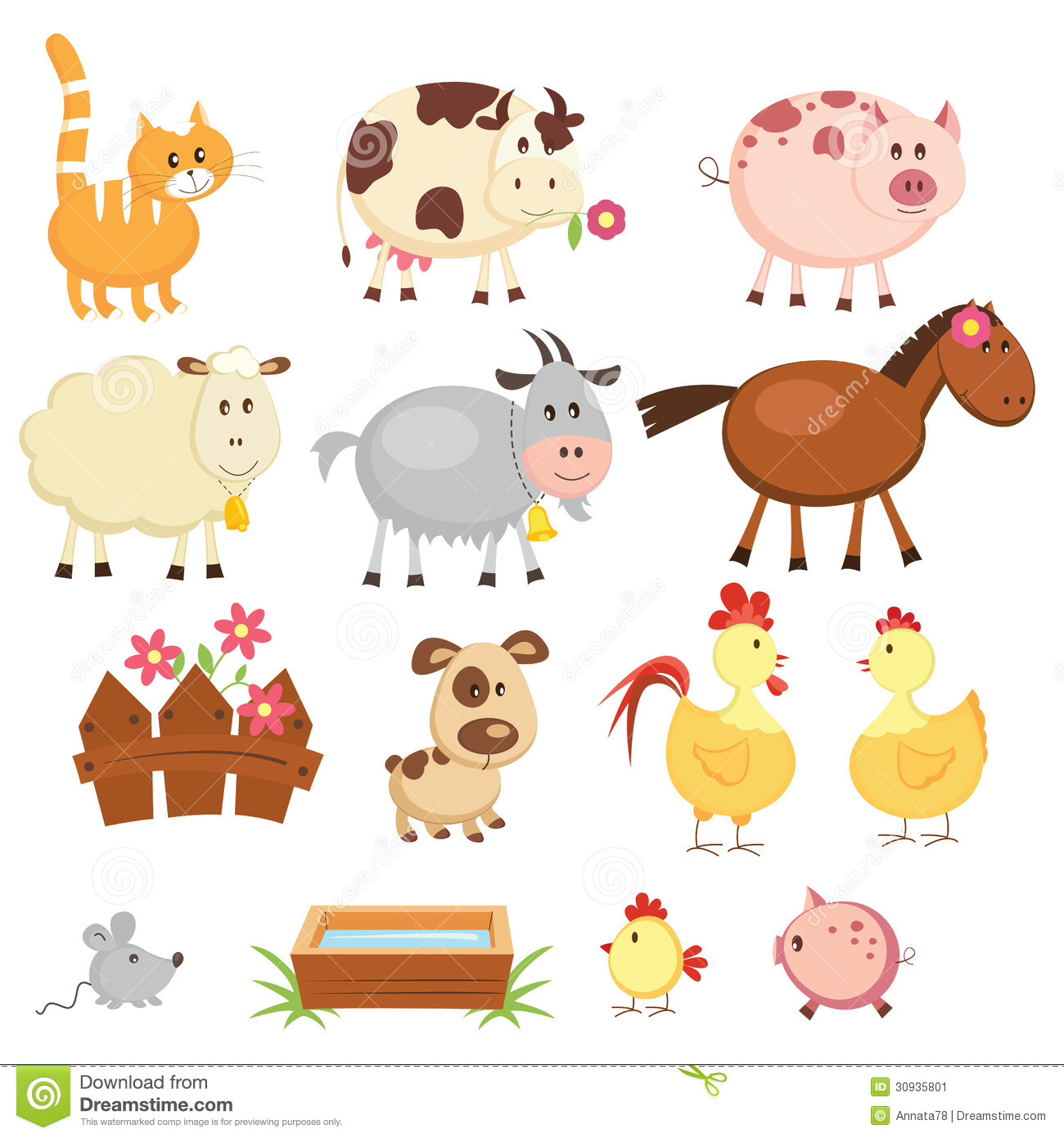 Clip Art Farm Animals Clipart farm animal clipart kid animals clip art pinterest