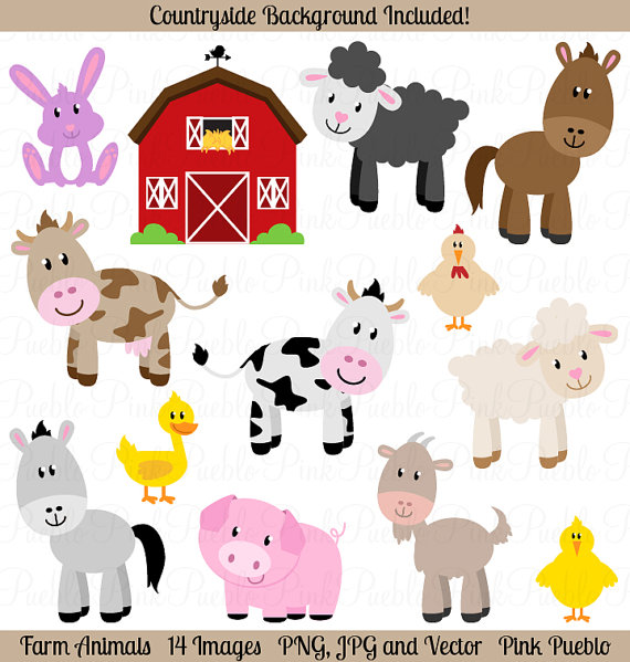 Clip Art Free Animal Clipart farm animal clipart kid animals clip art barnyard art