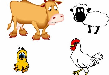 Farm Animal Clipart - Clipart Kid