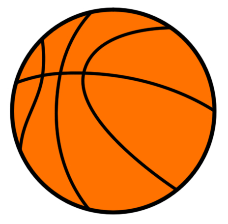 Cartoon Basketball Clipart - Clipart Kid