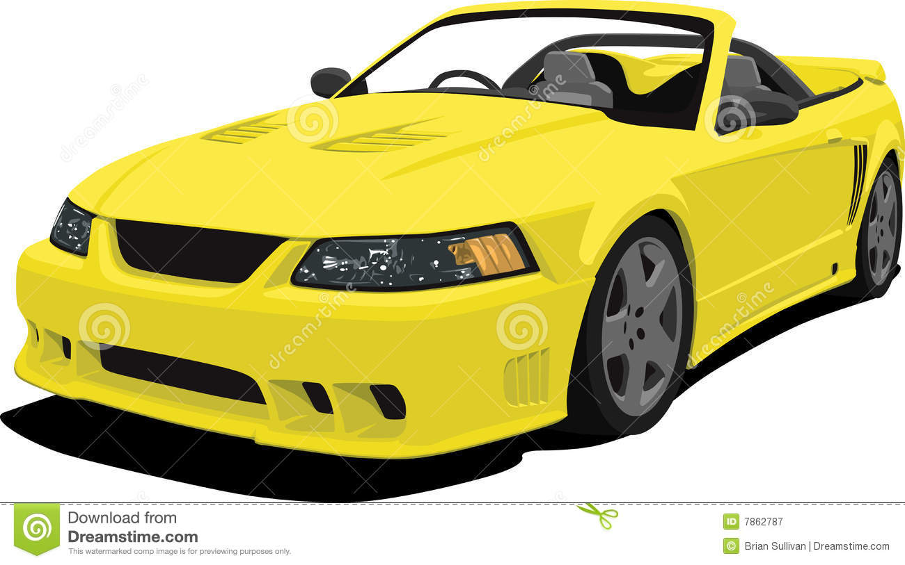 Yellow Car Clipart - Clipart Kid