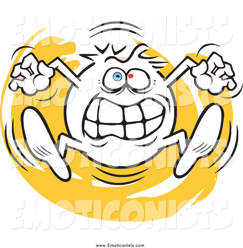Going Crazy Clipart Emoticon Going Crazy