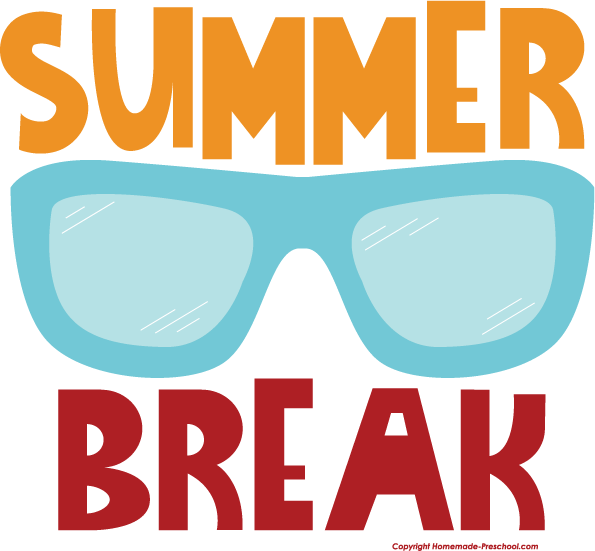Home Free Clipart School Clipart School Summer Break Glasses