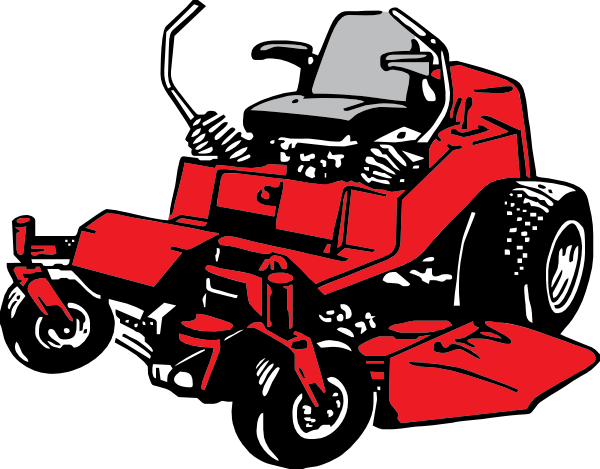 Riding Lawn Mower Clipart - Clipart Suggest