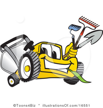 Lawn Mowing Black And White Clipart - Clipart Kid