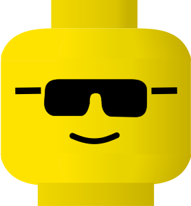 Lego Smiley Cool Clip Art