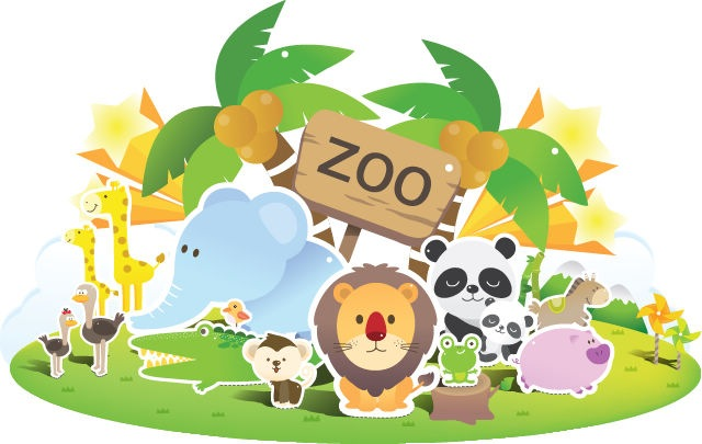 Name  Zoo Cute Vector