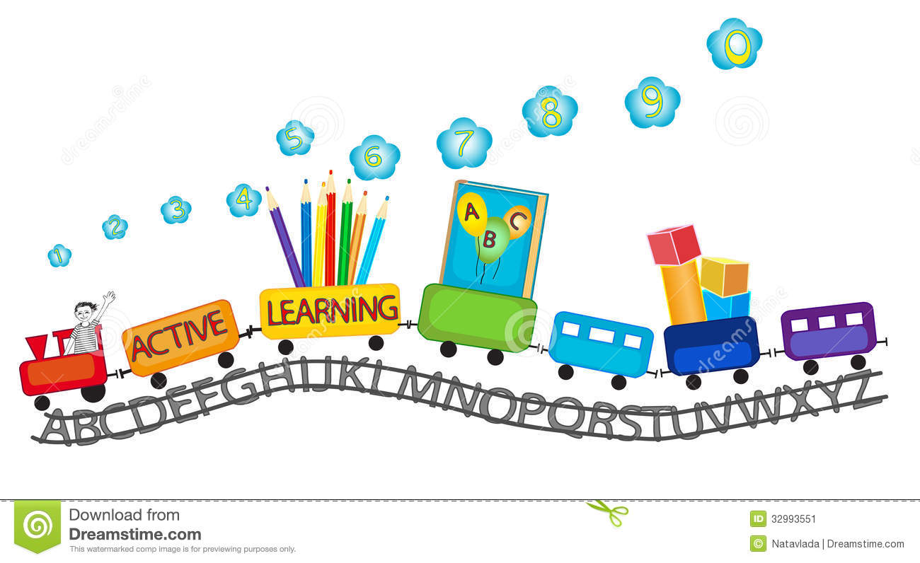 Preschool Children Clip Art Active Learning For Preschool