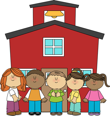 School Kids At School Clip Art   School Kids At School Image