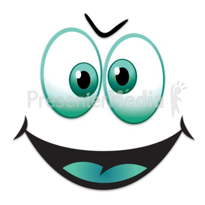 Silly Happy Face   Presentation Clipart   Great Clipart For