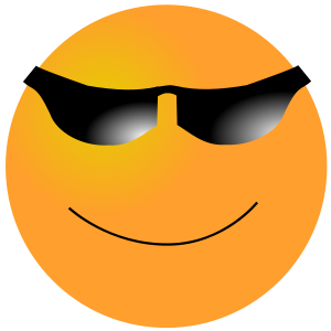 Smiley Cool Clip Art