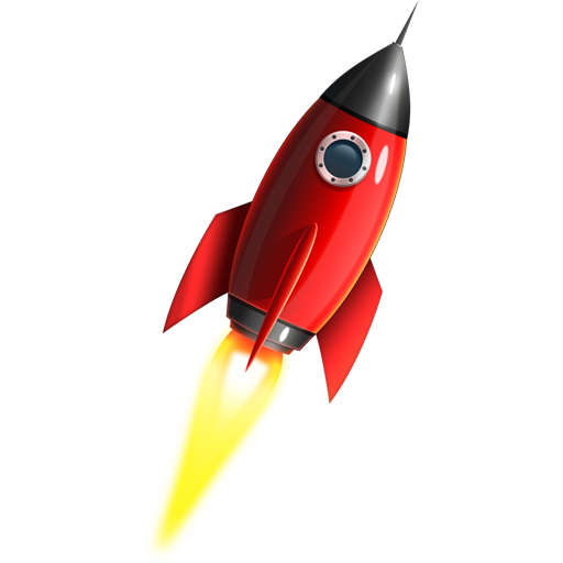 Space Rocket Icon  Psd