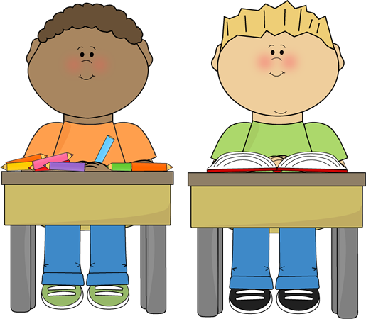 Students Reading Clipart Students Clip Art Image   Two
